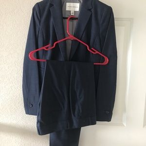 Other - Banana Republic Wool Work Suits Grey Blue Size 0/2
